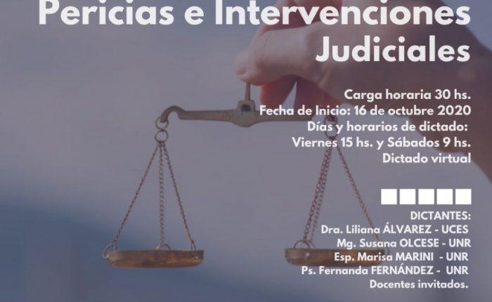 Seminario acreditable de posgrado: Pericias e Intervenciones Judiciales