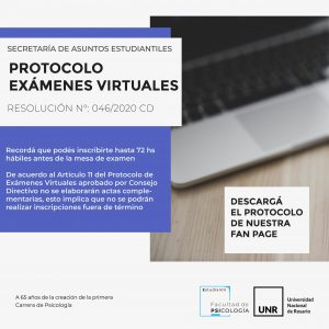 Protocolo de Exámenes virtuales