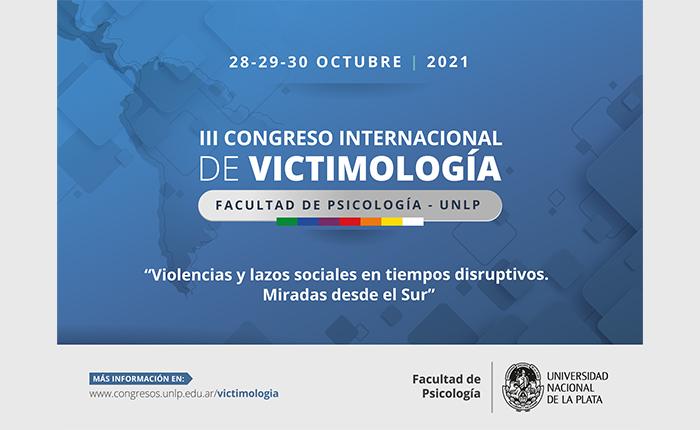 III CONGRESO INTERNACIONAL DE VICTIMOLOGÍA