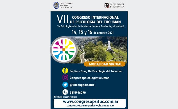 VII Congreso Internacional de Psicología del Tucumán
